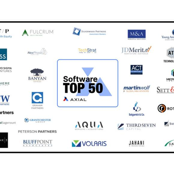 The Top 50 Lower Middle Market Software Investors and Advisory Firms