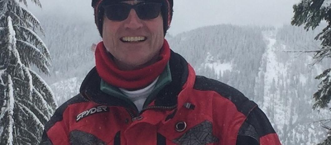 Joel Espelien enjoys skiing.