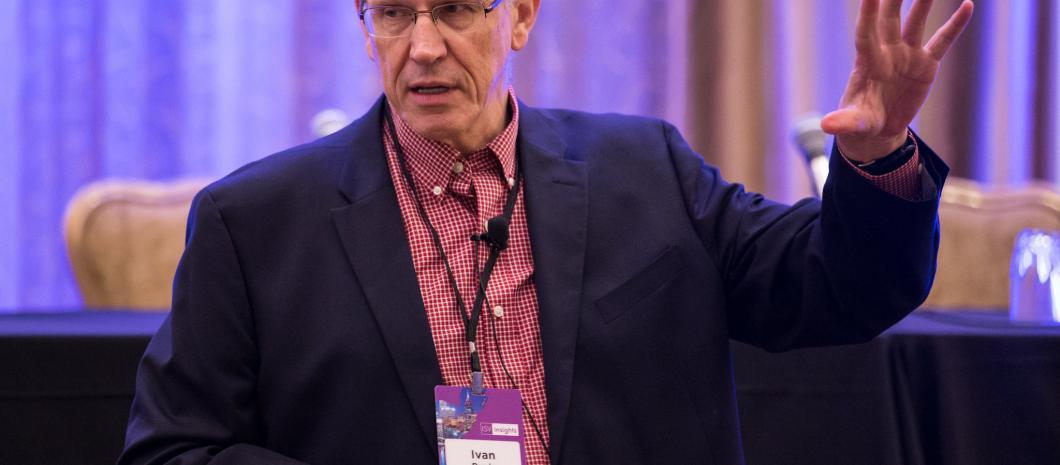 Ivan keynoting the Software Executive Forum